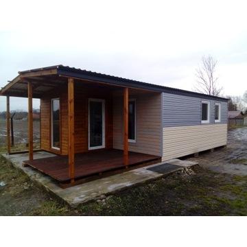 domek letniskowy, domek holenderski, dom drewniany