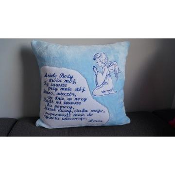 Poduszka z modlitwą haft
