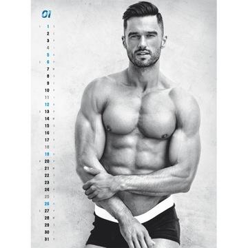 bad boys kalendarz 2020 chłopaki sexy mężczyźni