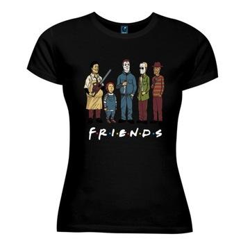 T-shirt koszulka DAMSKA film HORROR H30XXL