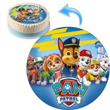 Jadalny Opłatek z nadrukiem Psi Patrol Premium