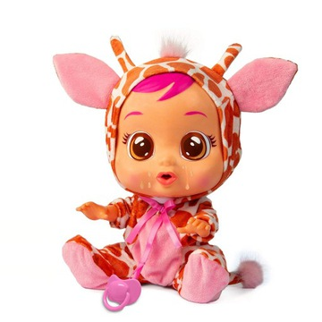 Cry Babies Fantasy Gigi Giraffe, multy lalka 30 cm