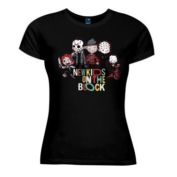 T-shirt koszulka DAMSKA film HORROR H32S