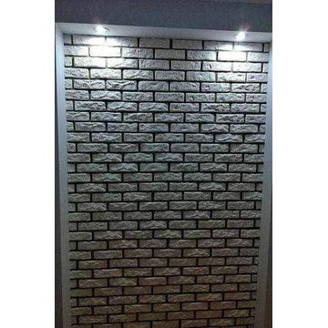 STARA CEGŁA imitacja cegły BIAŁA płytka gipsowa