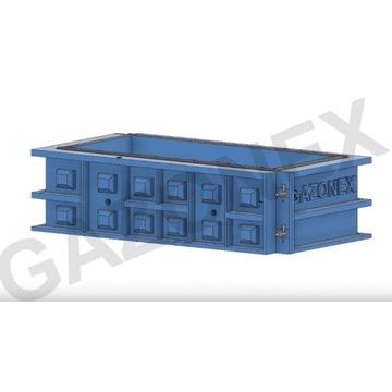 Forma bloku oporowego 180x60x60 bloki oporowe