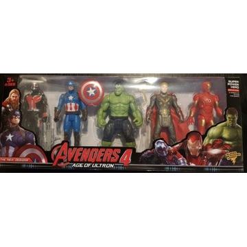 Zestaw Avengers Świecący 5 postaci