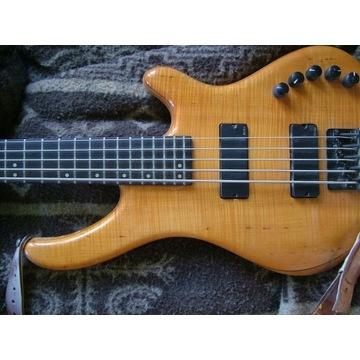Gitara basowa, bas 5 str, lutn. Kolasiński Guitars