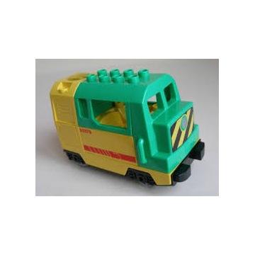 Zębatka do lokomotywy lego duplo /pociąg, kolejka/