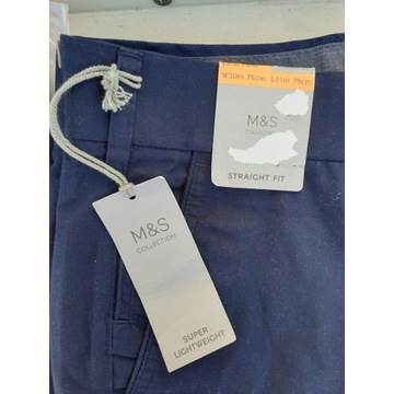 CHINO Marks and Spencer LINIA COLLECTION NOWE