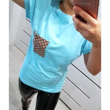 Bluzka T-shirt z kieszonką99
