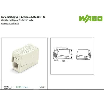 Złączka oświetleniowa WAGO 224-112 /100szt.