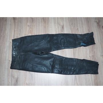 Ashman spodnie motocyklowe skórzane 52