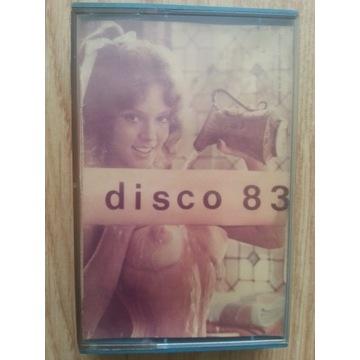 KASETA MAGNETOFONOWA disco 83