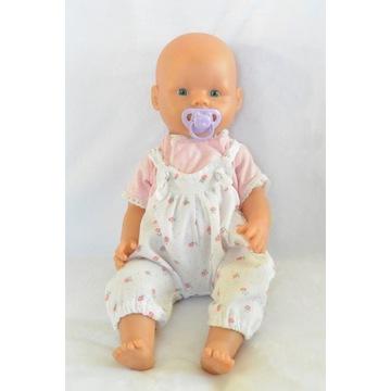 Lalka bobas New Born Baby Simba ze smoczkiem 40cm