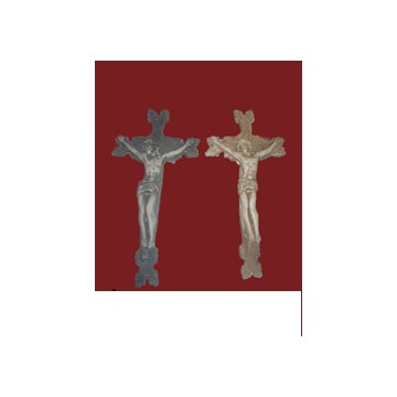 Płaskorzezba DEKOR Krzyż na sciane rzezba gips 3D
