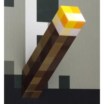 Minecraft pochodnia lampa wisząca kinkiet