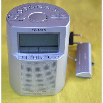 SONY RADIO CONTROLLED BUDZIK ICF-C795RC TOP MODEL