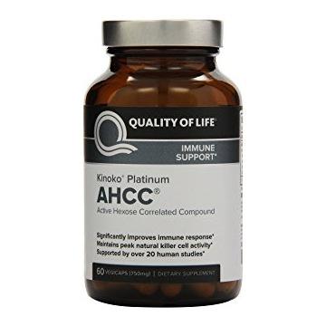 AHCC KINOKO Platinum 750 MG QUALITY OF LIFE