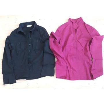 Bluzki koszule bluzka dwie sztuki zestaw rozmia S