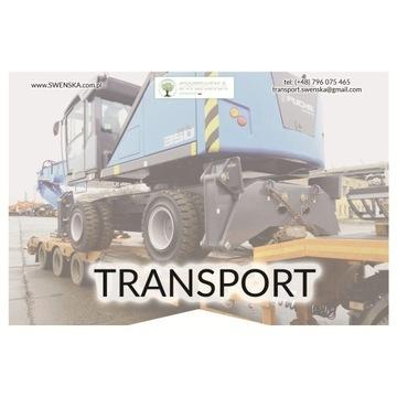 Transport maszyn, uczciwe stawki. Tel: 577.011.156