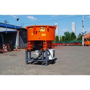 Betoniarka ciągnikowa elektryczna 1200 - 1800L