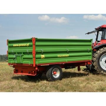 Przyczepa Rolnicza Jednoosiowa T654/2 4,9t T671 5t