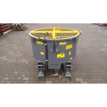 Betoniarka ciągnikowa hydrauliczna mieszalnik
