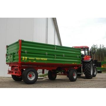 Przyczepa Rolnicza Dwuosiowa T653 4t 5t T653/2 6t
