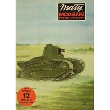 Mały Modelarz 1986 86 Czołg lekki RENAULT R17