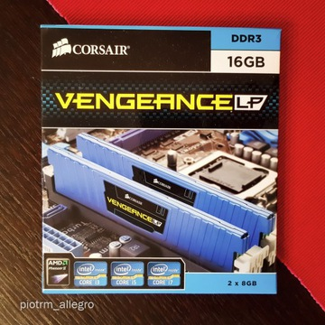 Pamięć RAM Corsair Vengeance DDR3 16 GB (2x8GB)
