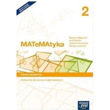 Matematyka 2 zakres rozszerzony Nowa Era PDF
