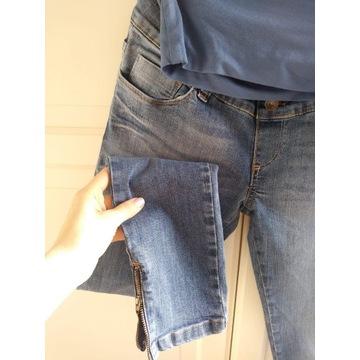 Jeansy rurki ciążowe Happy mum rozmiar XS