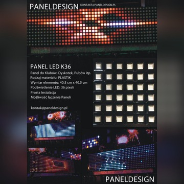 Panel LED K36