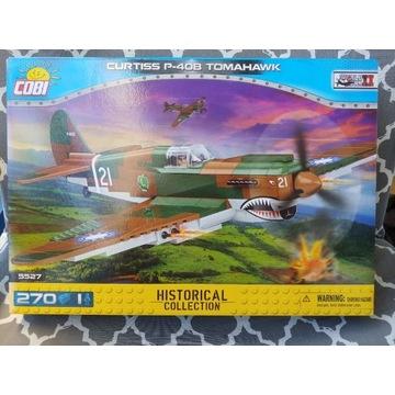 COBI Samolot CURTISS P-40B TOMAHAWK 5527 UNIKAT!!!