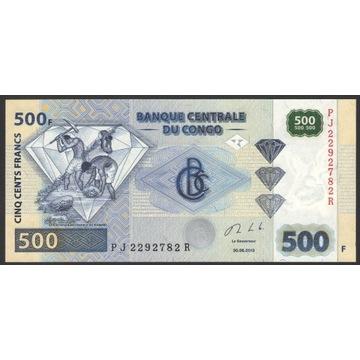 Kongo 500 Francs 2013 2292782