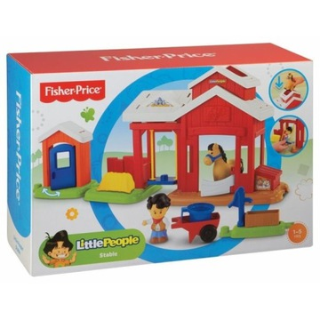 FISHER PRICE LITTLE PEOPLE STAJNIA BFT86