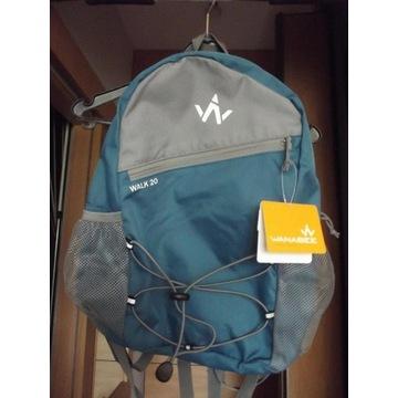 Plecak WANABEE Walk 20 niebieski