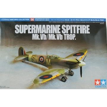 Spitfire Mk.Vb Tamiya + dodatki.
