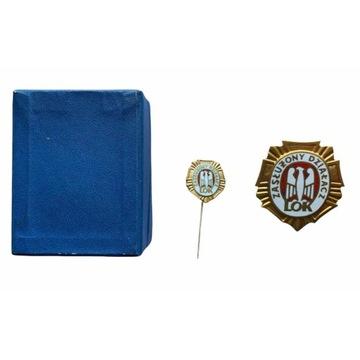 PRL: Odznaka Zasłużony Działacz LOK. Mini