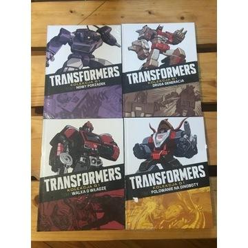 Transformers G1 Hachette Marvel x 4 FOLIA