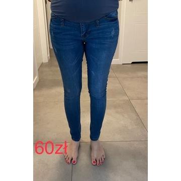Wygodne spodnie ciążowe 6 szt/jeansy/rozmiar 36-38
