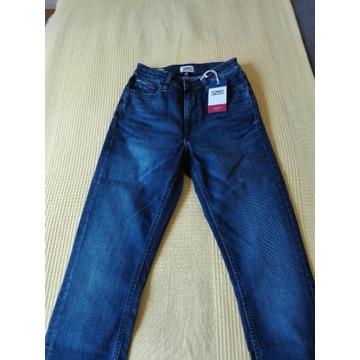 Jeansy XXS dla Pań skinny fit Tommy Hilfiger Jeans