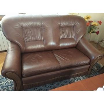 Wypoczynek skórzany Wajnert kanapa - sofa