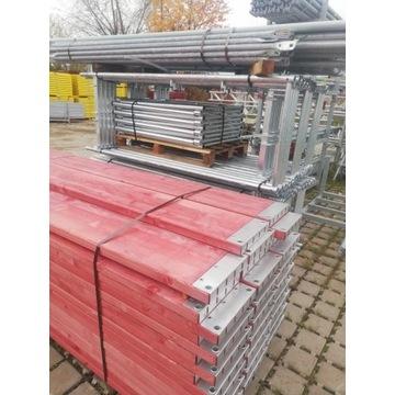 Rusztowanie fasadowe 178 m2 ścienne typ plettac sl