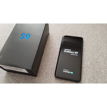 Samsung Galaxy S9, czarny