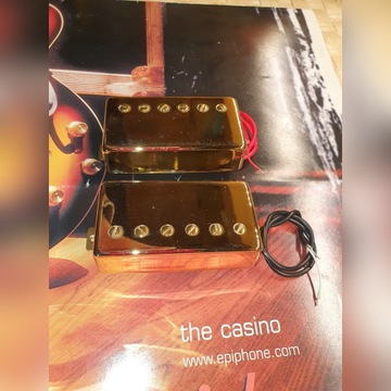 Przetworniki Epiphone LP Custom