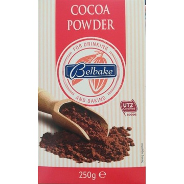 Kakao Belbake niemieckie 250g certyfikat UTZ