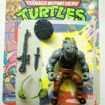 Rocksteady TMNT Ninja Turtles Playmates Figurka
