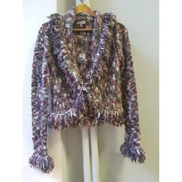 Kardigan M&S damski nowy sweter ciepły kobiecy