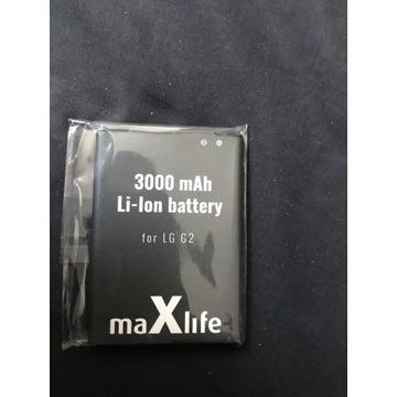Nowa Bateria LG G2 3000mah LI-lon